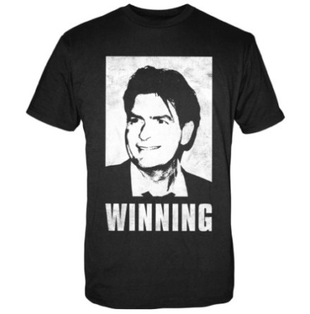 T-Shirt - Charlie Sheen - Winning