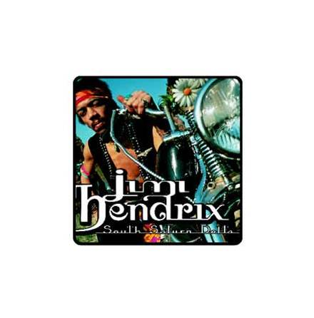 Jimi Hendrix - South Saturn Delta - Tygmärke