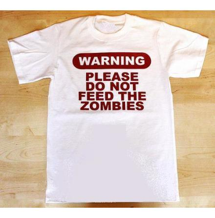 T-Shirt - Warning
