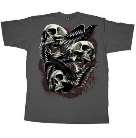T-Shirt - Came The Birds