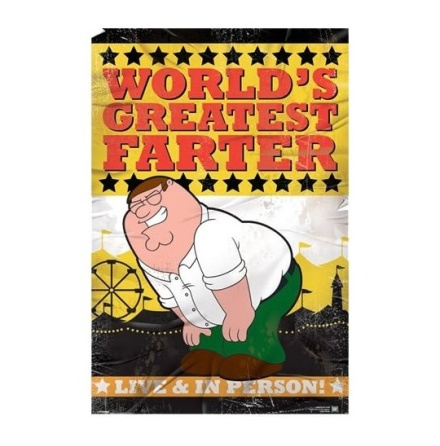 Poster-World's Greatest Farter