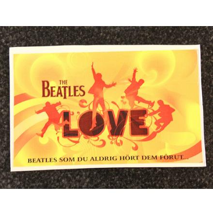 Beatles - Love - Klistermärke