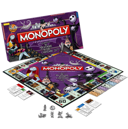 Nightmare Before Christmas - Monopoly