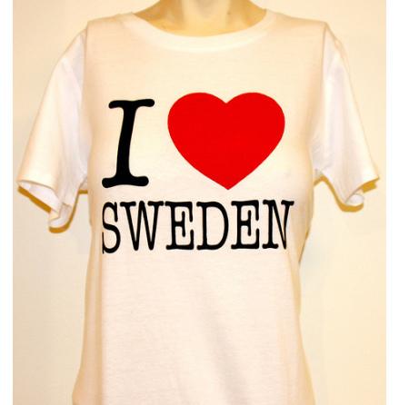 Dam Topp - I Love Sweden