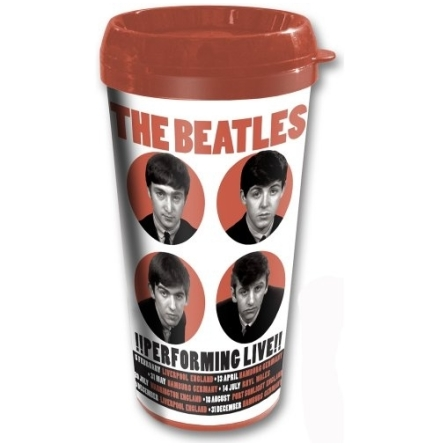 Beatles - 1962 Performing Live - Travel Mugg