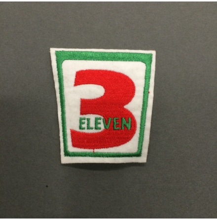 3 Elever - Tygmärke