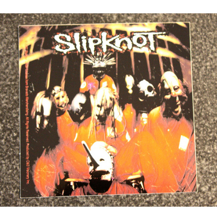 Slipknot - Bandbild - Klistermärke