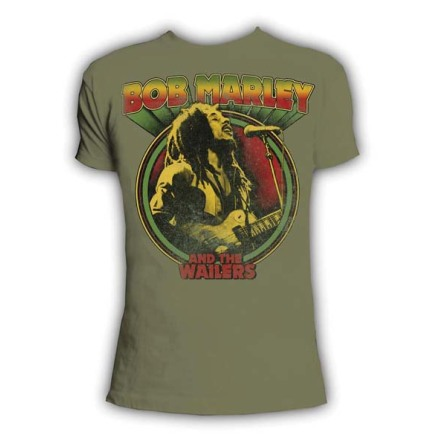 T-Shirt  -  Wailers Retro