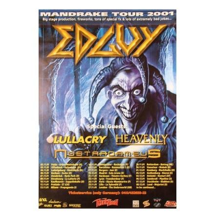 Edguy - Mandrake - Poster
