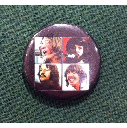 Beatles - Let it be - Badge