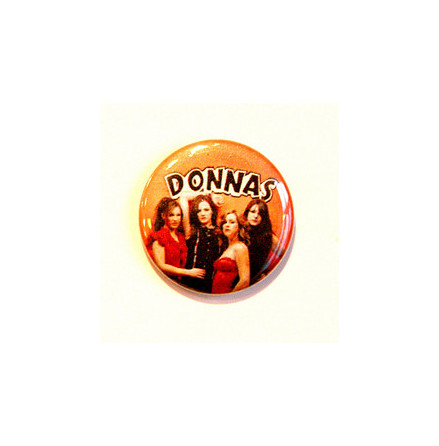Donnas - Bandbild Orange - Badge