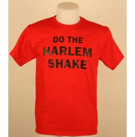 T-Shirt - Harlem Shake Röd