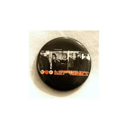 Deftones - Red Logo - Badge
