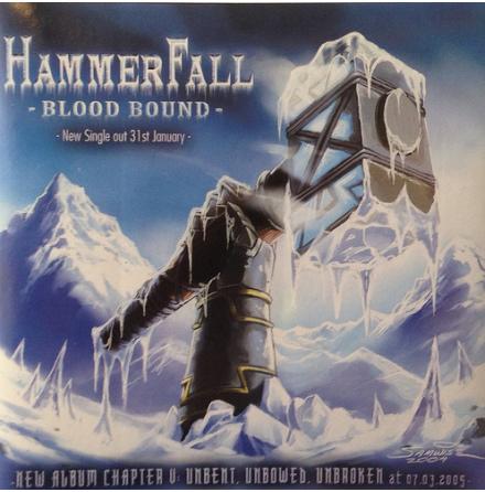 Hammerfall - Klistermärke