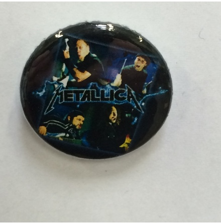 Metallica - Band - Badge
