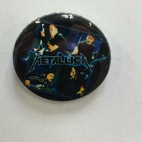 Metallica - Band - Badge