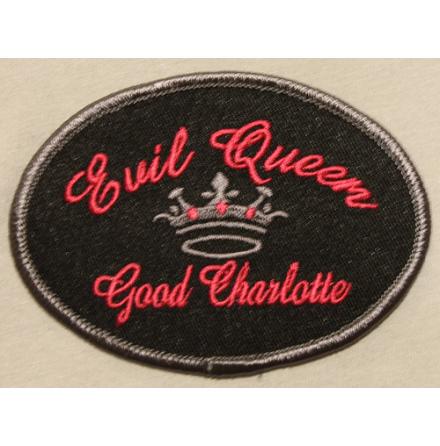 Good Charlotte - Evil Queen - Tygmärke