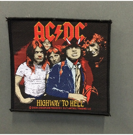 AC/DC - Highway To Hell  - Tygmärke