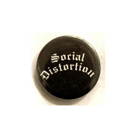 Social Distortion - Logo - Badge