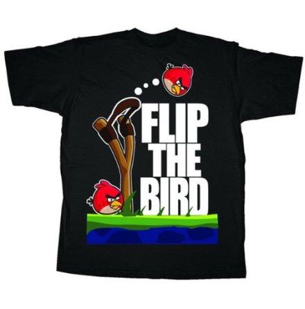 T-Shirt - Bird Flip