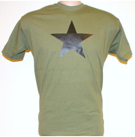 T-Shirt - Svart Stjärna