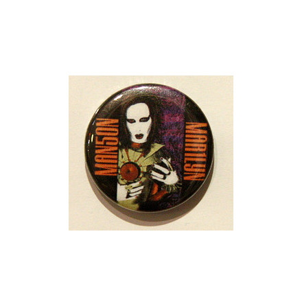 Manson Marilyn - Oilpainting - Badge