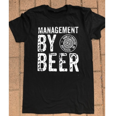 T-Shirt - Management By Beer