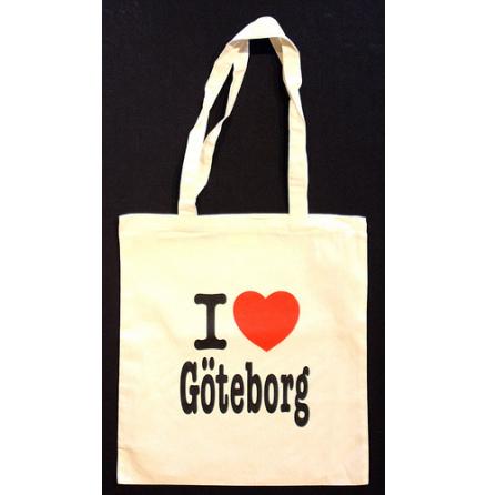 Tygkasse- I Love Göteborg