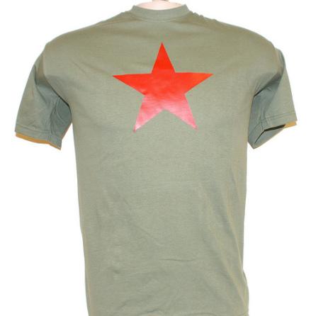 T-Shirt - Röd Stjärna