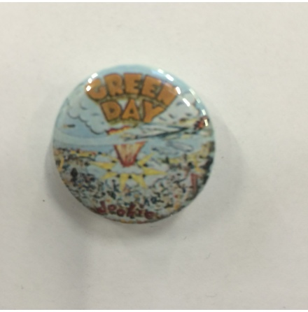 Green Day - Dookie - Badge