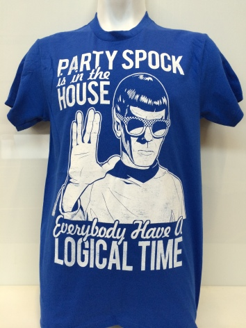 T-Shirt - Party Spock
