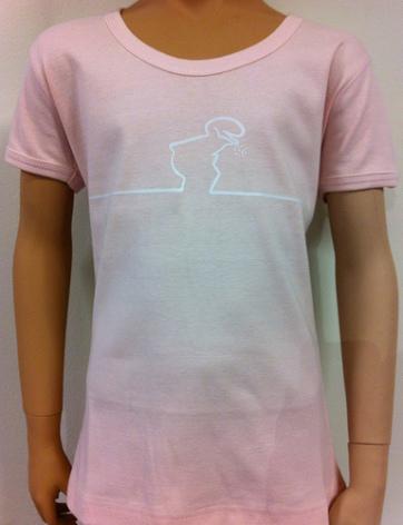 Barn T-Shirt - Linus - Rosa