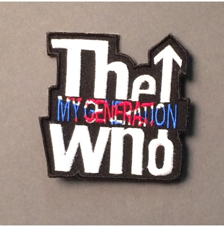 The Who - My Generation - Tygmärke