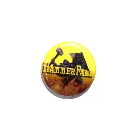 Hammerfall - Gul - Badge