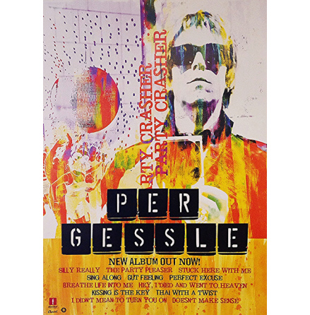 Per Gessle - Party Crasher - Poster