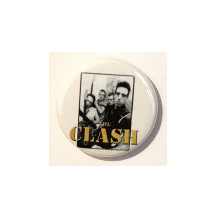 Clash - Band - Badge