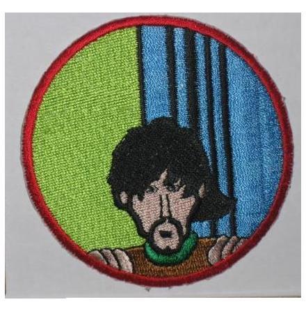 Beatles - Yellow Submarine George Harrison - Tygmärke