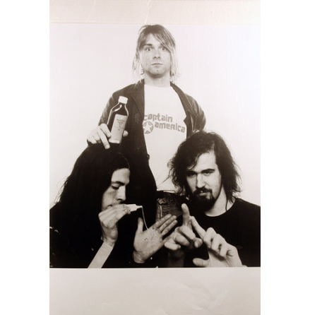 Nirvana - Band - Poster