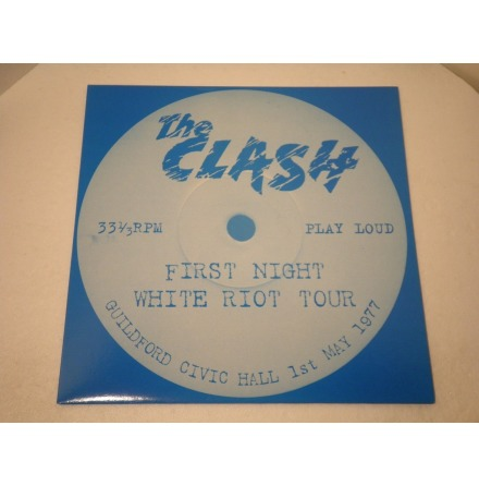 LP - The Clash - First Night White Riot Tour