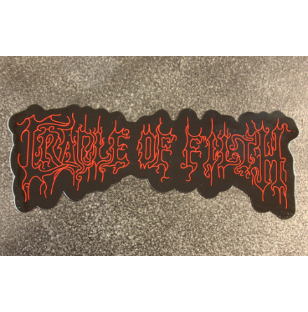 Cradle Of Filth - Stor Logo - Klistermärke