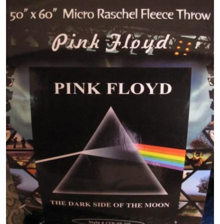 Pink Floyd - Dark Side Of The Moon Fleece Blanket