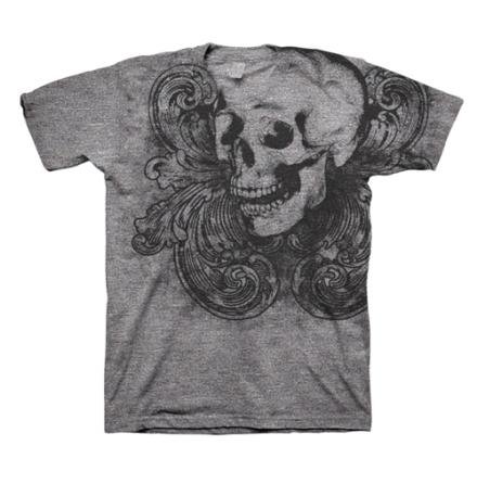 T-Shirt - Skull Fluer De Lis