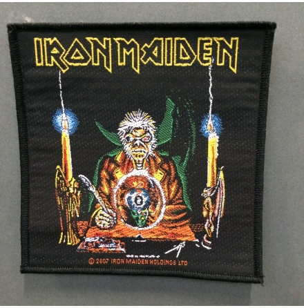 Iron Maiden - Clarvoyant  - Tygmärke