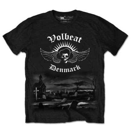 T-Shirt - Volbeat - Graveyard