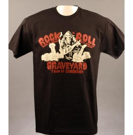 T-Shirt - Rock n Roll Grave