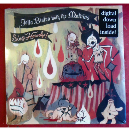 LP - Jello Biafra With The Melvins - Sieg Howdy!