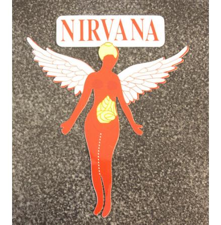 Nirvana - Angel - Klistermärke