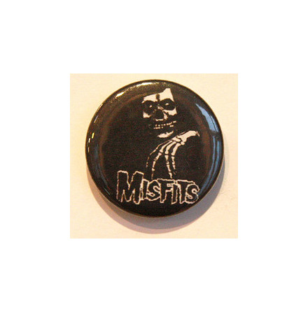 Misfits - Skeleton - Badge