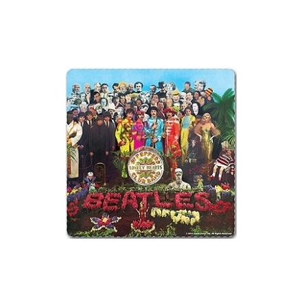 Beatles - Sgt Pepper Album - Single Coaster