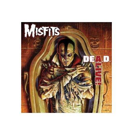 LP - Misfits - DEA.D. A Live!